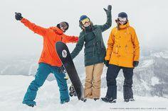 Winter is here. Let's snowboard. | Burton Girls