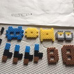 ふじた・だのいち・チャッキーのアイロンビーズ工房の画像 3d Perler Bead, Friendship Bracelets, Jewelry, Hama Beads Patterns, Jewellery Making, Jewels, Jewlery, Jewerly, Jewelery