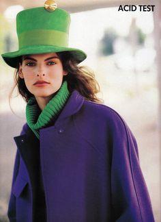 ☆ Linda Evangelista | by Arthur Elgort | Vogue Magazine UK | October 1988 ☆