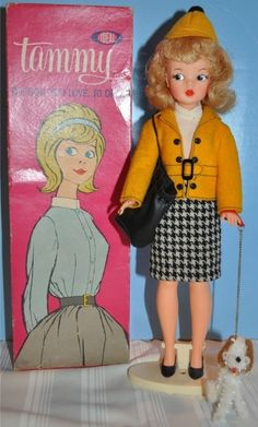 Loved my Tammy doll. I chose it over Barbie so my sister couldn't steal my clothes. Barbie couldn't wear them.