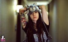"""Gogo in her photo set """"Wolfie"""""""