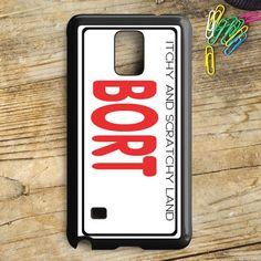 Bort License Plate Cover Samsung Galaxy Note 5 Case | armeyla.com