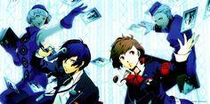 Shin Megami Tensei: Persona 3 - Elizabeth, Minato, Minako, Theodore