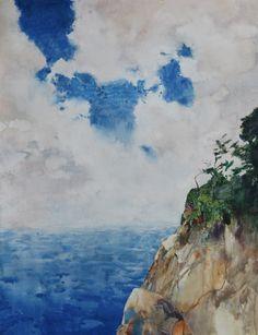 Impressionist Landscape, Watercolor Landscape, Abstract Landscape, Impressionism, Watercolor Paintings, Original Paintings, Abstract Art, Original Art, North Coast