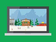 [GIF] Google Santa Tracker by Haraldur Thorleifsson (San Francisco, CA)