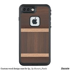 Custom wood design case for Iphone 7s