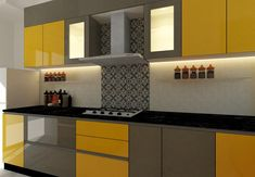 Here you will find photos of interior design ideas. Get inspired! Kitchen Cupboard Designs, Bedroom Cupboard Designs, Kitchen Design Open, Interior Design Kitchen, Contemporary Kitchen Cabinets, Living Room Partition Design, Kitchen Modular, Home Room Design, Square