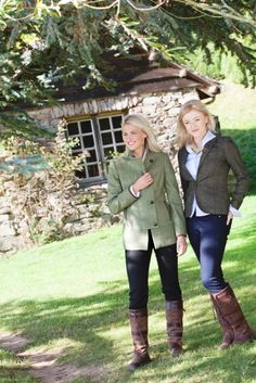 Dubarry's Galway boots never look out of place in the country.