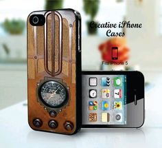 1930s Vintage Tombstone Radio  iPhone 5 by CreativeIphonecases, $17.99
