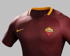 Camisas da AS Roma 2016-2017 Nike 2