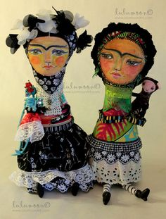 Blank Greeting Cards // Two Fridas von lulumoon auf Etsy, $3.00
