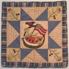 Summertime quilt from Jan Patek