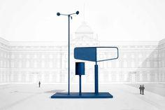 Osgerby barbero presenta el pronóstico de instalación de energía eólica en la toma de posesión Bienal de Diseño de Londres