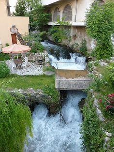 Mostar, Bosnia and Herzegovina Wonderful Places, Beautiful Places, Sarajevo Bosnia, Fantasy Landscape, Bosnia And Herzegovina, Oh The Places You'll Go, Beautiful World, The Good Place, Amazing Gifs