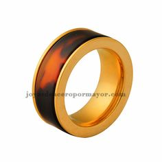 8mm satinless steel band ring on sale-SSRGG831306