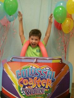 Colossal Coaster! Picture Booth, Carnival Themes, Roller Coaster, Coasters, Balloons, Bible, Explore, School, Colors