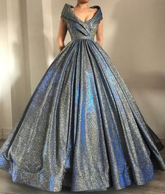 A-line V-Neck Sparkly Sequin Simple Vintag Long Prom Dresses,Ball on Storenvy Ball Dresses, Ball Gowns, Prom Dresses, Formal Dresses, Elegant Dresses, Pretty Dresses, Amazing Dresses, Beautiful Gowns, Dream Dress