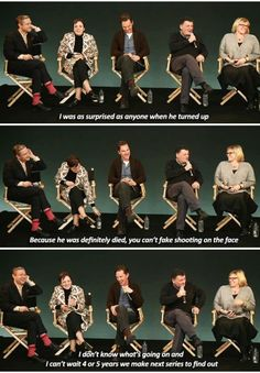 *chillingly calm* Moffat, if you do this to us, to the fandom, I will personally come to England and hunt you down with a revolver. Then I will kill you and give the writing of Doctor Who and Sherlock to katierosefun (aka Caroline, luv ya, twinnie!!). And both fandoms will hail me as a hero for ridding the universe of your filth. End of story. Scared yet? GOOD.