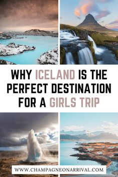 Find out why Iceland is the perfect destination for a girls trip. Are you looking for girls getaway weekend ideas? Iceland is a great choice as it has adventure, luxury and spa options to please…More Europe Travel Guide, Iceland Travel, Travel Guides, Travel Destinations, Travel List, Girls Getaway, Beautiful Places In The World, City Break, European Travel