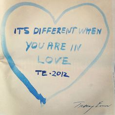 It's different when you are in love #TracyEmin for #Stylist 127 - @bonography- #webstagram
