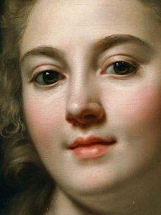 Autoportrait de Marie-Gabrielle Capet, 1783 Détail