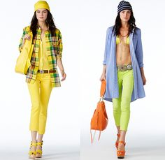 Polo Ralph Lauren 2015 Spring Summer Womens Lookbook Presentation - New York Fashion Week - Denim Jeans Destroyed Destructed Ripped Holes Cargo Pockets Shorts Stripes Lace Outerwear Polo Shirt Badminton Blazer Sportcoat Sweater Jumper Maxi Dress Checks Chunky Knit Embroidery Flowers Florals Scarf Wedge Fringes Swimwear Down Vest Puffy Bomber Jacket Tribal Cardigan Poplin Shirt Plaid Coat Shirtdress Blousedress Parka