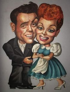 lucile ball caricatures | poklonio Lucy – Desi muzeju koji se nalazi u Jamestownu NY.