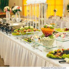 Menü für Hochzeitsmahl