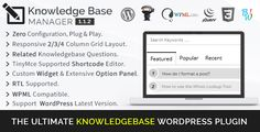 BWL Knowledge Base Manager is an ultimate WordPress plugin comes with lots of unique and flexible features to create unlimited number of Knowledge Base question and answers for your website content. Modal based & Ajax Powered Sticky Search feature gives you the best search experiences to find their question answers quickly.