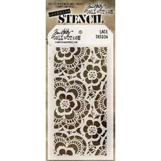 Tim Holtz layering stencils are designed to add texture and imagery to your creativity The simple take shape makes it easy to organise and store the