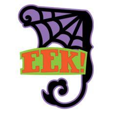 Free SVG File – Sure Cuts A Lot – 08.19.11 – Eek Corner Cobweb