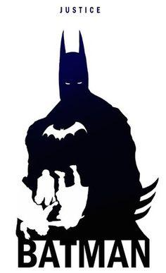 Silhuetas de Super Heróis por Steve Garcia