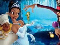 Personajes de la princesa Tiana y el sapo