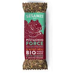 """Παστέλι με Mέλι & Φυστίκι """"Pistachio Force"""" - 40g Pistachio, Handmade, Pistachios, Hand Made, Craft, Handarbeit"""