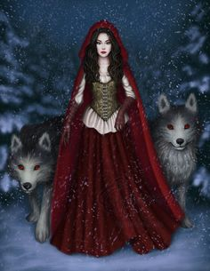 Red Riding Hood by Enamorte on DeviantArt http://enamorte.deviantart.com/art/Red-Riding-Hood-538503749