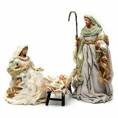 La Sagrada Familia, San José, la Virgen María y el niño Jesús.