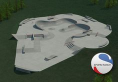 Sample Concrete Skatepark Design by spohnranchskateparks, via Flickr