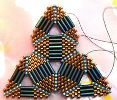 Riverlea Beads: Playing with Triangles