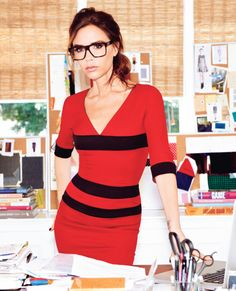 This Little Girl Is Lost: Victoria Beckham gets specky