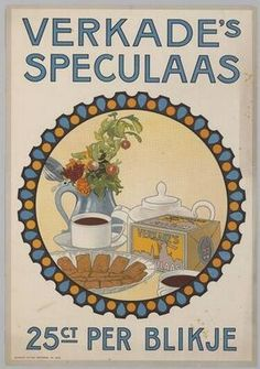 vintage Verkade's Speculaas biscuits advertisement