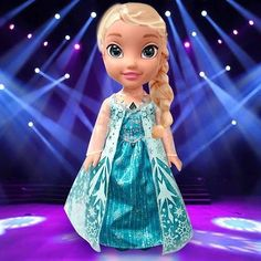 Next up on #Eurovision representing Arendelle it's Queen Elsa singing 'Let It Go'! #Elsa #Frozen #Disney #eurovision #smythstoys #smythstoyssuperstores #heyletsplay #toystagram #letitgo #arendelle