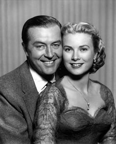 Grace Kelly and Ray Milland in 'Dial M For Murder', 1954.