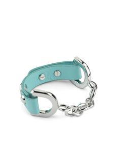 Pilar Turquoise Bracelet, Silver