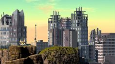 https://flic.kr/p/W73nzW | 2. Skyline .... | maps.secondlife.com/secondlife/Binemust/92/143/904