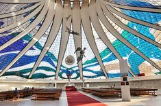 Oscar Niemeyer - Cathedral of Brasilia