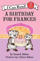 As her little sister Gloria's birthday approaches, Frances wavers between being generous--and being jealous.