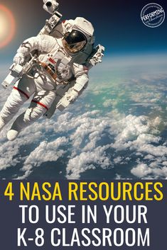 In this post, find out the NASA Resources for the Classroom I use for science project based learning and other lessons in my classroom. Great information for K-8 grade!
