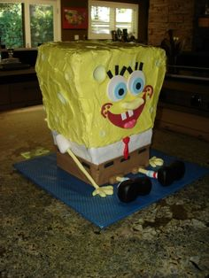 Sponge BOB Cake... :)