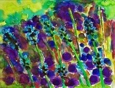 """""""Lavender"""", watercolour on paper, 24 x 32 cm Watercolour, Paintings, Paper, Art, Lavender, Idea Paint, Painting Art, Pen And Wash, Art Background"""