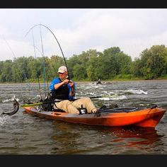 The new wilderness system A.T.A.K Advanced Tactical Angling Kayak!